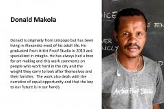 ANDRIES ARTIST DONALD MAKOLA