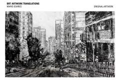CLARENDON MARIO SOARES ORIGINAL ARTWORK