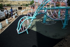 PLAYGROUNDS AND BENCHES
