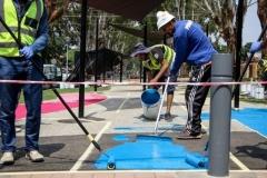 ROTUNDA SURFACE PAINTING 18-02-2019 - ZIVANAI MATANGI (24)