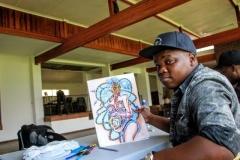 Rotunda workshop and artists (19)